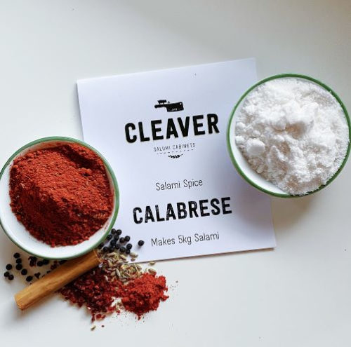 Cleaver Salami Spice Kit Calabrese