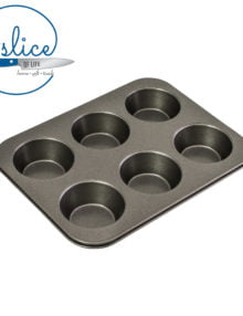 Bakemaster 6 Cup Large Muffin Pan