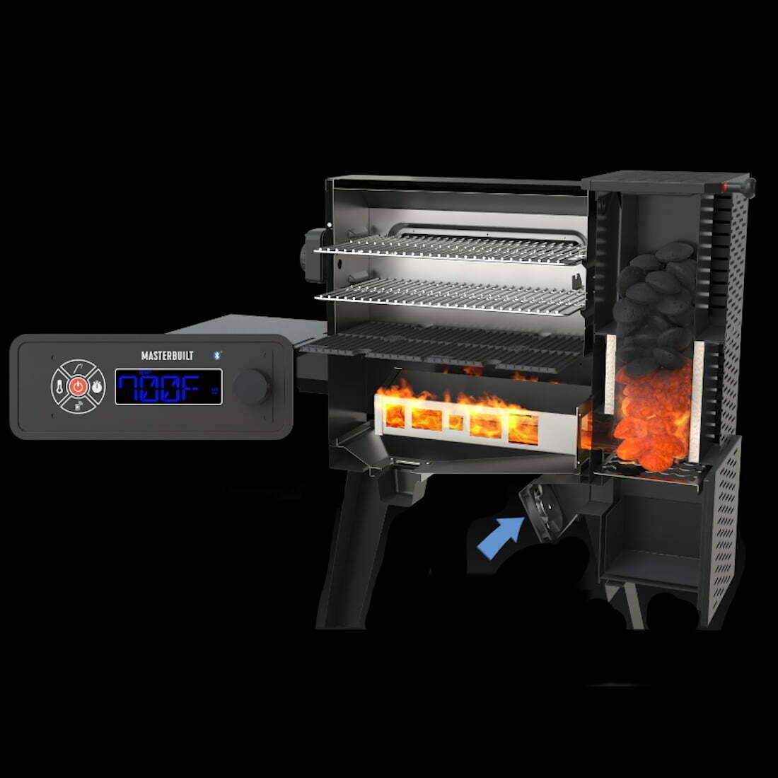 Masterbuilt Gravity Series 560 Charcoal Grill & Smoker