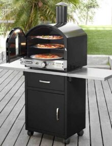 Gasmate Pizza Oven & Cabinet