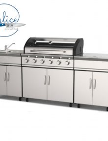 Gasmate Avenir 6 Burner BBQ Kitchen