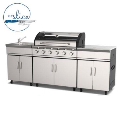 Gasmate Avenir 6 Burner BBQ Kitchen