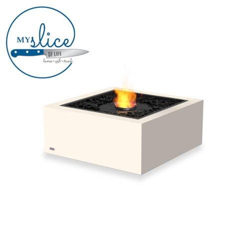 Ecosmart Fire Base 30 Fireplace Bone (Black Burner)