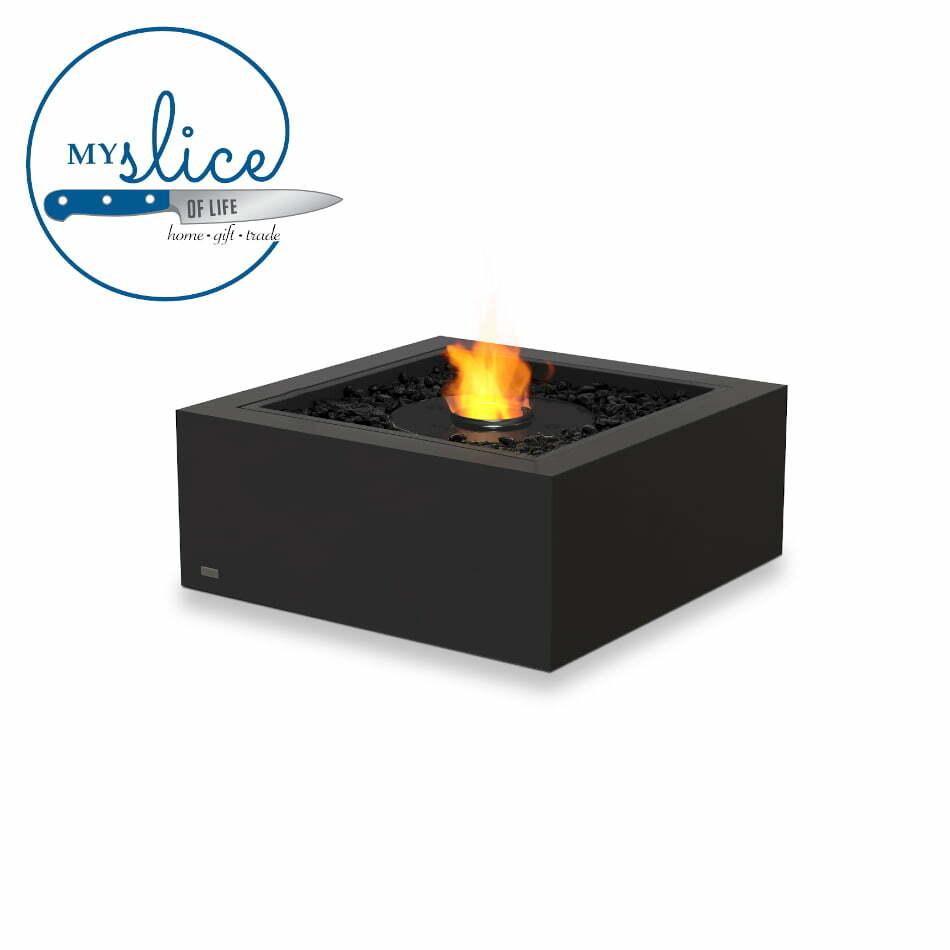 Ecosmart Fire Base 30 Fireplace Graphite (Black Burner)
