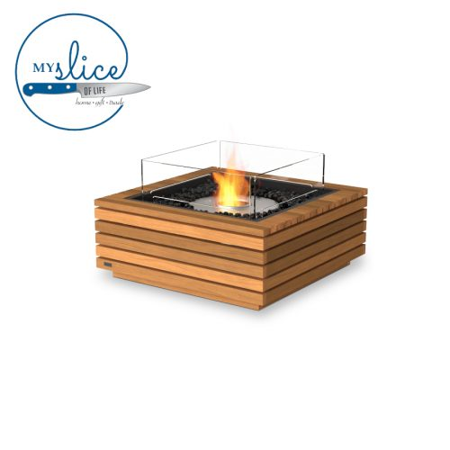 Ecosmart Fire Base 30 Fireplace Teak