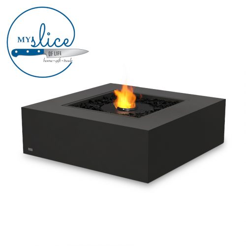 Ecosmart Fire Ethanol Base 40 Fireplace Graphite (Black Burner)