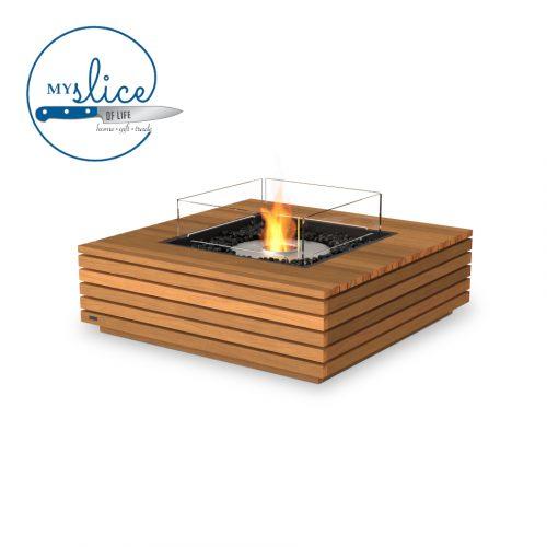 Ecosmart Fire Ethanol Base 40 Fireplace Teak