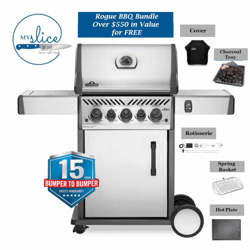 Napoleon Grills Rogue RSE 425 BBQ Package