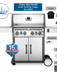 Napoleon Grills Rogue RSE 525 BBQ Package