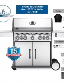 Napoleon Grills Rogue RSE 625 BBQ Package