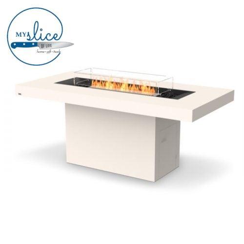 Ecosmart Fire Gin 90 Bar Fireplace Bone