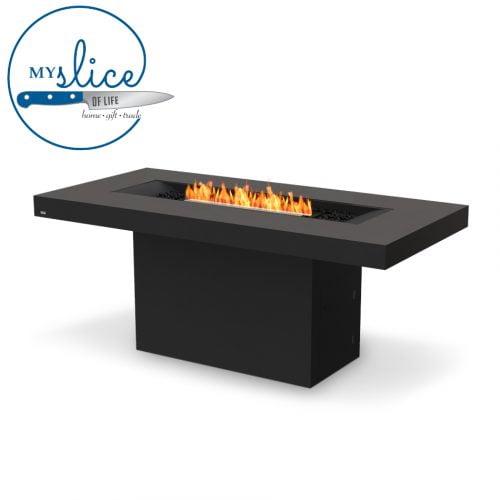 Ecosmart Fire Gin 90 Bar Fireplace Graphite (Black Burner)