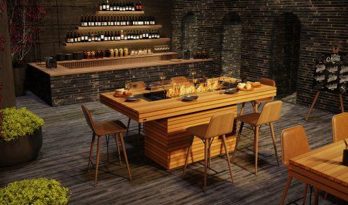Ecosmart Fire Gin 90 Bar Fireplace Install