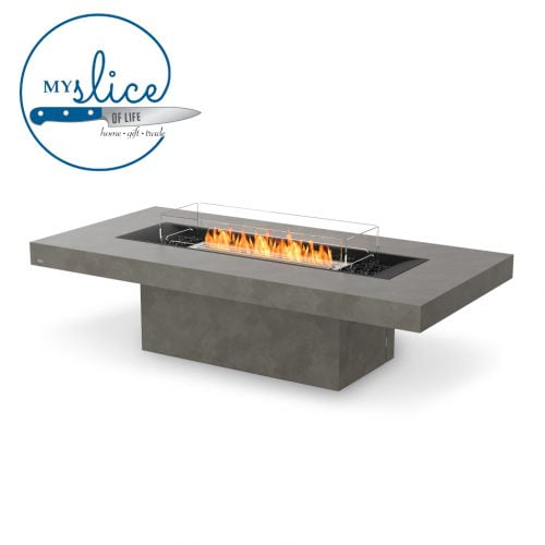 Ecosmart Fire Gin 90 Chat Fireplace Natural