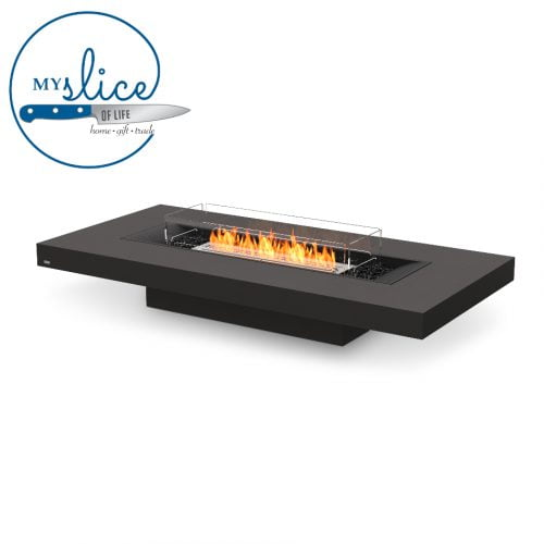 Ecosmart Fire Gin 90 Low Fireplace Graphite