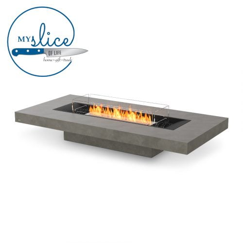 Ecosmart Fire Gin 90 Low Fireplace Natural