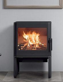 Hergom E-40 Freestanding Wood Fireplace (2)