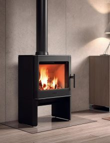 Hergom E-40 Freestanding Wood Fireplace