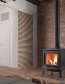 Hergom E-30M Freestanding Wood Fireplace (1)