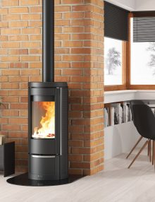Kaminus La Nordica Marlena Wood Heater (2)
