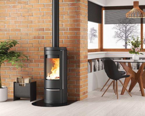 Kaminus La Nordica Marlena Wood Heater (2)