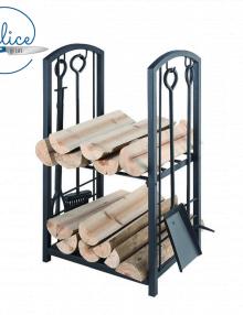 Fire Up 2 Tier Wood Rack