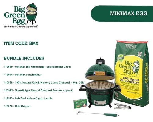 Big Green Egg MiniMax Bundle