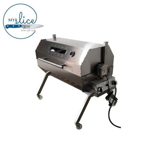 Flaming Coals Dual Fuel Spit Roaster (2)