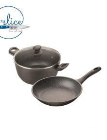 Pyrolux Pyrostone 2 Piece Cookware Set