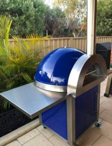 Zesti Wood Fire Pizza Ovens ZRW1100 (Blue)
