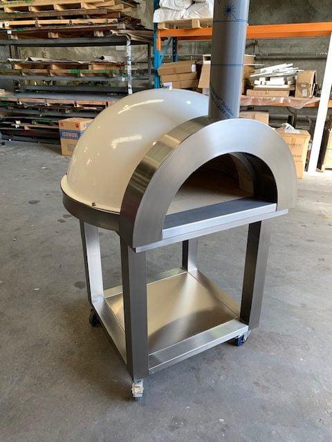 Zesti Wood Fire Pizza Ovens ZRW1100 (Open Trolley)