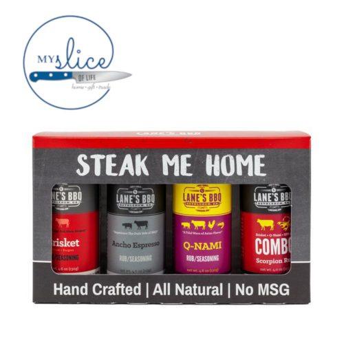 Steak Me Home 4 Rub Gift Set