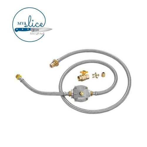 Gasmate Natural Gas Conversion Kit with Ball Valve Fitting